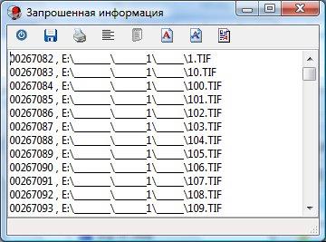 Дерево файлов в папке