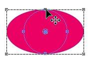 Создание круга из эллипса с помощью клавиши Shift Corel PaintShop Pro X4 автор Шитов В.Н.