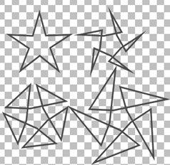 Смещение углов звезды Corel PaintShop Pro X4 автор Шитов В.Н.