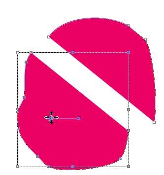 Разъединение долей формы Corel PaintShop Pro X4 автор Шитов Виктор Николаевич
