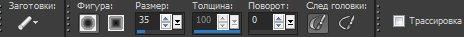 Панель опций для инструмента Chalk (Мелок) Corel PaintShop Pro X4 автор Шитов В.Н.