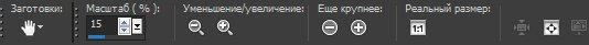 Панель опций для инструмента Pan (Панорама) Corel PaintShop Pro X4 Автор Шитов В.Н.