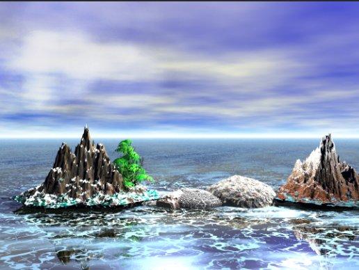 Левая часть изображения осветлена Corel PaintShop Pro X4 автор Шитов В.Н.