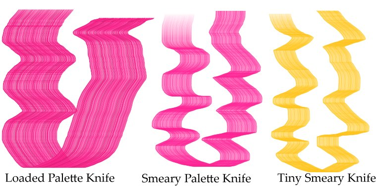 Кисти Palette Knives Corel Painter 12